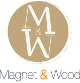 magnet and wood