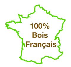 100% Bois Français